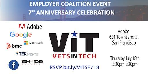 VetsinTech Anniversary and Employer Meetup @AdobeSF!!
