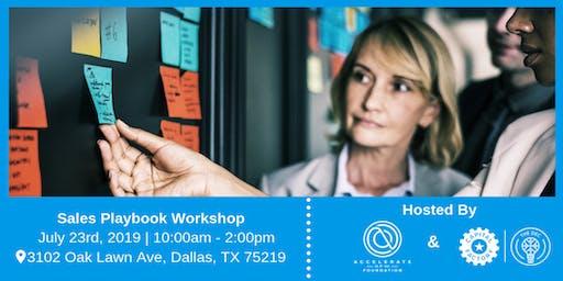 Sales Playbook Workshop