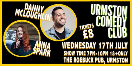 Wednesday Night Comedy at Urmston Comedy Club tickets