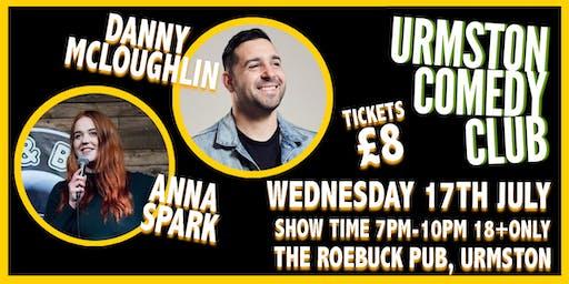 Wednesday Night Comedy at Urmston Comedy Club