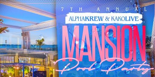 7th Annual | AlphaKrew | KAKOLive Pool Party | DJ Certified Bday Bash!