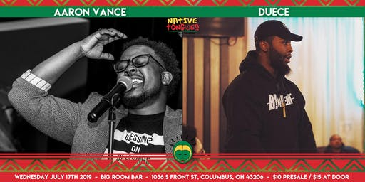 The TWENTIETH Native Tongues With Aaron Vance and DUECE