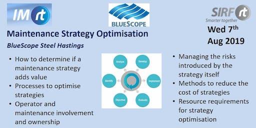 VICTAS Maintenance Strategy Optimisation - BlueScope Hastings