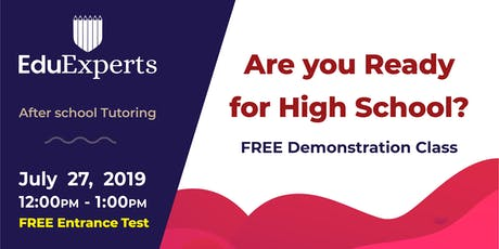 EduExperts Wairau - Are you ready for high school? tickets