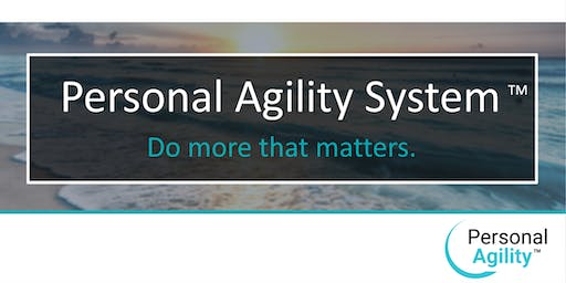 Personal Agility Recognized Practitioner Workshop - St. Petersburg, FL