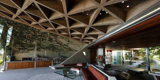 Visit John Lautner's Sheats-Goldstein House