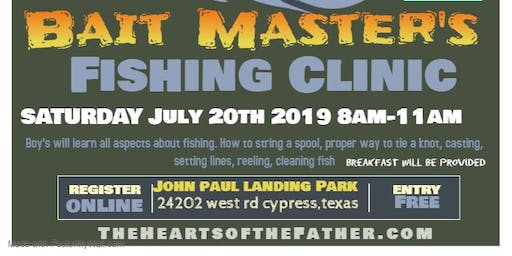 Bait Master's Fishing Clinic