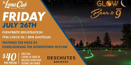 Glow Golf w/ Deschutes Brewing  tickets