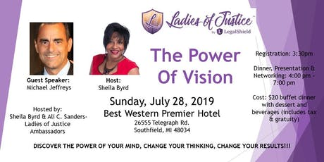 Ladies of Justice The Power of Vision tickets