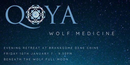 WOLF MEDICINE - Qoya and the Wolf Full Moon