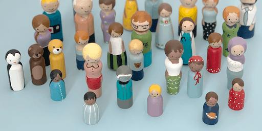 Painted Peg Dolls Workshop