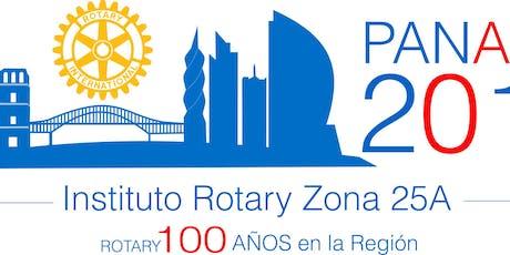 Instituto Rotary Panama 2019 tickets