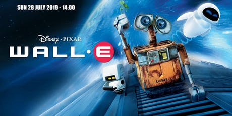 WALL-E (U) at the Folk Hall - Sun 28 July @ 14:00 tickets