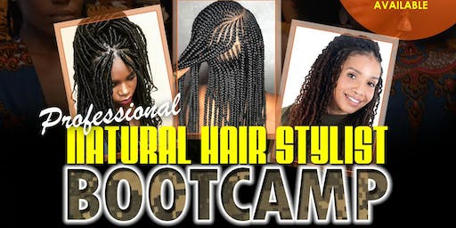 Professional Natural Hair Stylist Bootcamp