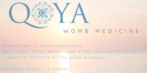 WOMB MEDICINE - Qoya, Pelvic Breathwork and the Jade Egg Practice.