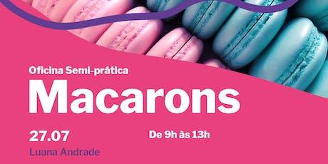 Oficina Semi-Prática de Macarons tickets