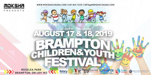 Brampton Children & Youth Festival 2019 | Roselea Park | 2 Day Festival