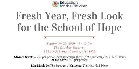 Fresh Year, Fresh Look for the School of Hope tickets