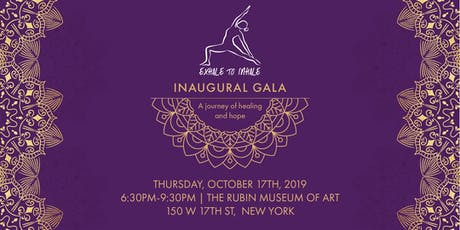 Exhale to Inhale Inaugural Gala tickets