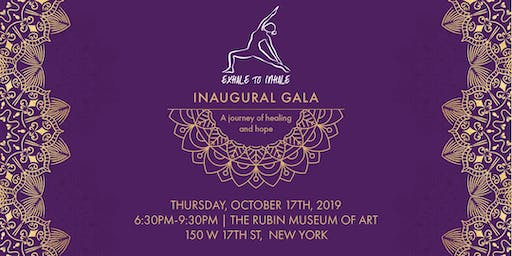 Exhale to Inhale Inaugural Gala