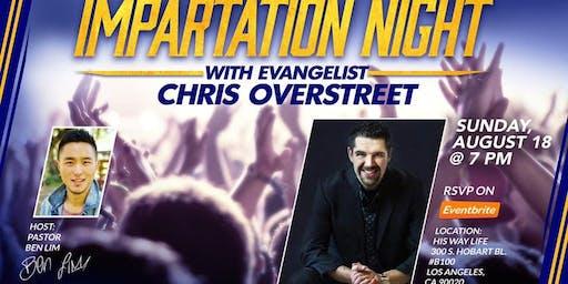 Impartation Night with Chris Overstreet