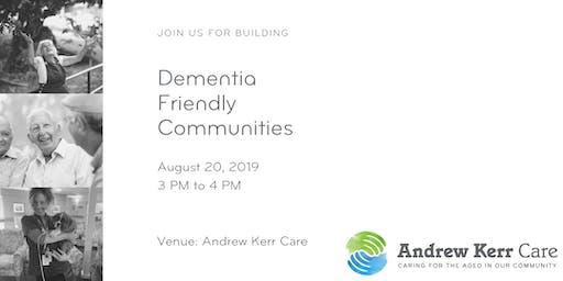 Dementia Friendly Communities