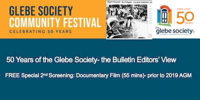 50 Years of the Glebe Society- the Bulletin Editors' View  SPECIAL SCREENING