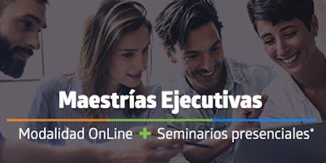 CLASE MUESTRA, Maestrías Ejecutivas UTEL tickets