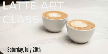Latte Art Class tickets