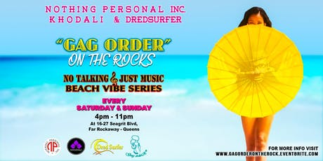 """GAG ORDER"" On The Rock tickets"