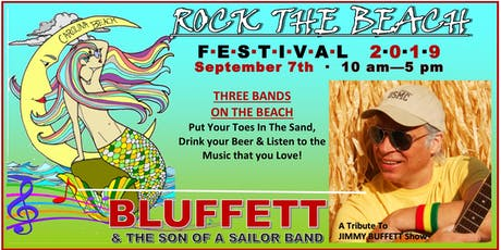 2nd Annual Rock The Beach Festival featuring BLUFFETT and the Son of a Sailor Band tickets