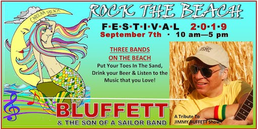 2nd Annual Rock The Beach Festival featuring BLUFFETT and the Son of a Sailor Band