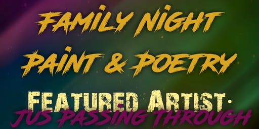 Family Night Paint & Poetry