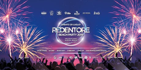 REDENTORE BEACH PARTY 2019 biglietti