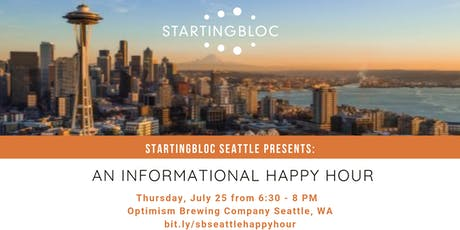 StartingBloc Seattle Informational Happy Hour tickets
