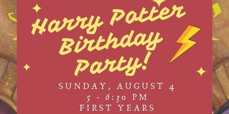 Harry Potter Birthday Party! tickets