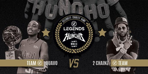 Quavo x Legends Celebrity Charity  Basketball Game