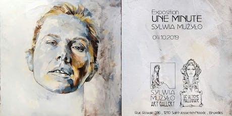 "Exposition ""Une Minute"" Sylwia Mużyło 2019 billets"