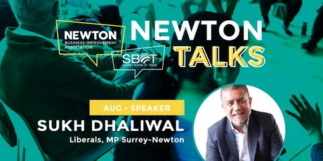 Newton Talks | August 2019 tickets