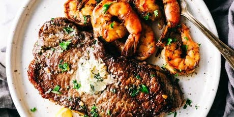 Cooking Class: Grilled Steak and Shrimp tickets
