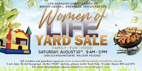 Women of Life Yard Sale tickets