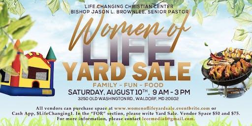 Women of Life Yard Sale