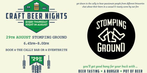 Craft Beer Night - Stomping Ground Brewery