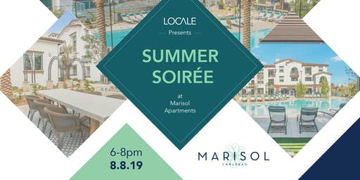 Summer Soirée at Marisol Carlsbad Apartments Presented by Locale Magazine