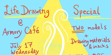 Life Drawing Special with TWO Models tickets