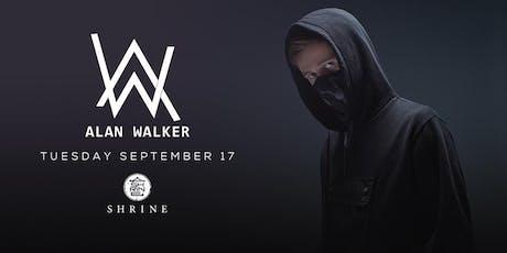 I Love Tuesdays feat. Alan Walker 9.17.19 tickets