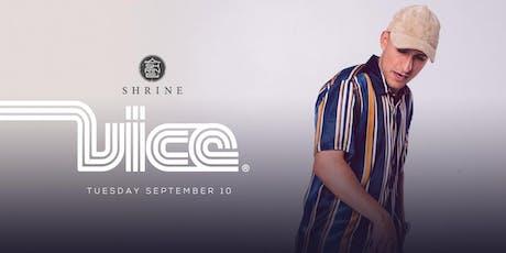I Love Tuesdays feat. Vice 9.10.19 tickets