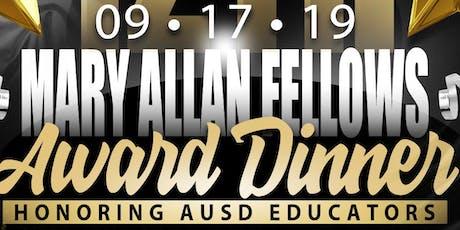 Mary Allan Fellows Award 2019 tickets