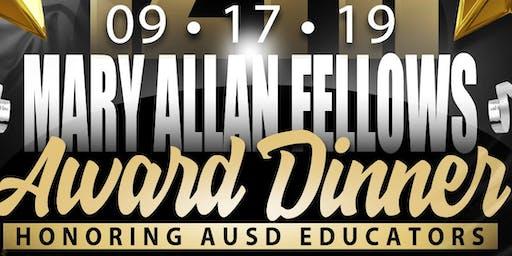 Mary Allan Fellows Award 2019