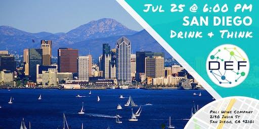 DEF San Diego Drink & Think